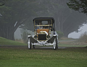 Ford Model T Car Posters - 1911 Ford Model T II Poster by Dave Koontz