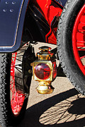 Ford Model T Framed Prints - 1911 Ford Model T Torpedo 4 cylinder 25 HP Taillight Framed Print by Jill Reger