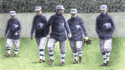 Infield Digital Art - 1911 Philadelphia Athletics by Steve Dininno
