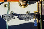 Pedals Framed Prints - 1911 Pope Hartford Model W 4 Cylinder 50 HP 7 Passenger Brake-Clutch Pedals Framed Print by Jill Reger