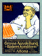 Hamburg Painting Prints - 1912 Bakery and Confectionery Exhibition Print by Historic Image