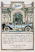 Passenger Mixed Media Prints - 1912 Peerless 6 Passenger Torpeedo Print by Ira Shander