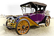 Vintage Cars Art - 1913 Argo Electric Model B Roadster by Marcia Colelli