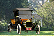 Ford Model T Car Prints - 1914 Model T Pick Up Print by Dave Koontz