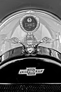 1915 Prints - 1915 Chevrolet Touring Hood Ornament - Moto Meter Print by Jill Reger
