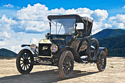Ford Model T Car Prints - 1915 Ford Model T Roadster II Print by Dave Koontz