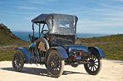 Ford Model T Car Prints - 1915 Ford Model T Roadster VI Print by Dave Koontz