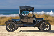 Ford Model T Car Prints - 1915 Ford Model T Roadster VII Print by Dave Koontz