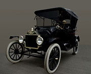 Ford Model T Car Posters - 1915 Ford Model T Poster by Tim McCullough