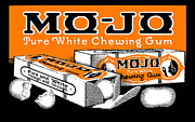 American Food Paintings - 1915 Mo Jo Chewing Gum by Historic Image