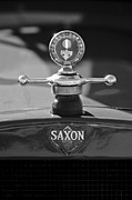 Roadster Prints - 1915 Saxon Roadster Hood Ornament 2 Print by Jill Reger