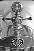 1917 Prints - 1917 Owen Magnetic M-25 Hood Ornament - Moto Meter Print by Jill Reger