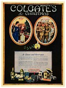 Doughboy Framed Prints - 1918 - Colgate Advertisement - World War I - Color Framed Print by John Madison