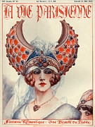 Headdresses Art - 1920s France La Vie Parisienne Magazine by The Advertising Archives