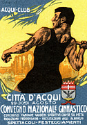 Historicimage Paintings - 1920 Italian Gymnastics Poster by Historic Image