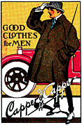 Historicimage Paintings - 1920 Vintage Mens Clothing by Historic Image