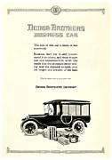 1928 Dodge Brothers Framed Prints - 1921 - Dodge Brothers Business Car Truck Advertisement Framed Print by John Madison