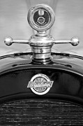 Historic Vehicle Prints - 1922 Studebaker Touring Hood Ornament 3 Print by Jill Reger