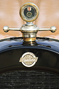 Motor Photo Posters - 1922 Studebaker Touring Hood Ornament Poster by Jill Reger