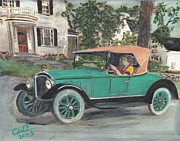 Manufacturing Painting Posters - 1923 Bay State Poster by Cliff Wilson