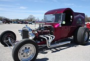 Purple Ford Photos - 1923 Ford C-Cab by John Telfer