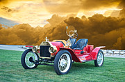 Ford Model T Car Framed Prints - 1923 Ford Model T Speedster Framed Print by Dave Koontz