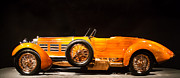 Hispano Suiza Photos - 1924 Hispano Suiza Torpedo by Roger Mullenhour