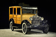 Valuable Photo Originals - 1925 Ford 150A Wagon by Howard Koby