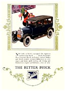 General Motors Company Posters - 1926 - Buick Automobile Advertisement - Color Poster by John Madison