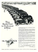 General Motors Company Posters - 1926 - Buick Automobile Advertisement Poster by John Madison