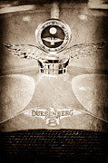 Boyce Motometer Framed Prints - 1926 Duesenberg Model A Boyce Motometer - Hood Ornament Framed Print by Jill Reger