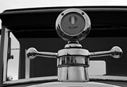 Ford Model T Car Prints - 1926 Ford Model T Hood Ornament Print by DJ Monteleone