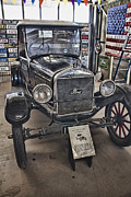 Ford Model T Car Photo Prints - 1926 Ford Model T Runabout Print by Douglas Barnard