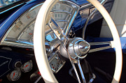 Collectible Sports Art Photos - 1926 Ford Model T Steering Wheel by DJ Monteleone