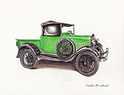 Heather Stinnett - 1926 Ford Truck