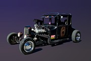 Top Model Framed Prints - 1927 Ford High Top Model T Rat Rod  Framed Print by Tim McCullough