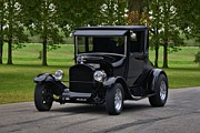 Ford Model T Car Posters - 1927 Ford Model T High Top Hot Rod Poster by Tim McCullough