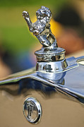 1927 Prints - 1927 Franklin Sedan Hood Ornament Print by Jill Reger