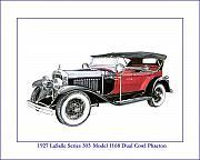 1927 Lasalle Series 303 Print by Jack Pumphrey