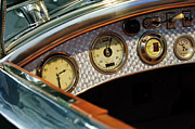 Royce Prints - 1927 Rolls-Royce Phantom I Tourer Dashboard Gauges Print by Jill Reger