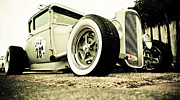 Beach Hop Prints - 1928 Ford Model A Hot Rod Print by Phil