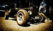 Ford Hot Rod Posters - 1928 Ford Model A Rod Poster by Phil