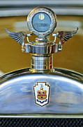 Boyce Motometer Posters - 1928 Pierce-Arrow Hood Ornament Poster by Jill Reger