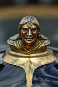 Indian Art - 1928 Pontiac Hood Ornament  by Jill Reger