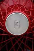 Wheel Photos - 1928 Rolls-Royce Phantom I Sedenca de Ville Wheel Emblem by Jill Reger