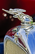 Vintage Hood Ornament Metal Prints - 1928 Studebaker Hood Ornament 2 Metal Print by Jill Reger