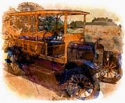 Valuable Metal Prints - 1929 Woody Metal Print by Marcia Lee Jones