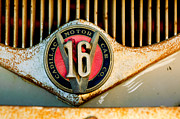 1930 Framed Prints - 1930 Cadillac 452 V16 Ambulance Emblem Framed Print by Jill Reger