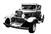1930 Chevy Print by Guy Whiteley