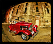Blake Richards Framed Prints - 1930 Ford model A Framed Print by Blake Richards